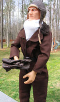 1/3 Scale German WWI Pilot with Jumpsuit