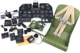 1/4 Scale P-47D Thunderbolt Cockpit Kit