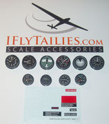 WWII Aircraft USA Instrument Set S105/2