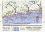 US WWII Map of Omaha Beach East D-Day