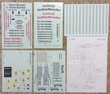 1/5 Scale Fw-190 Decal Set