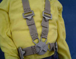 1/3.5 to 1/4 Scale Harness Black Z-158