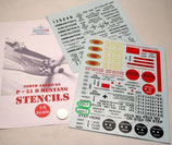P-51D Mustang Decal Set