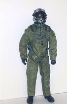 1/4 Scale Jet Pilot Green Suit Standard