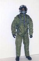 1/4 Scale Jet Pilot Green Suit Standard