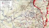 US WWII Map Battle of the Bulge