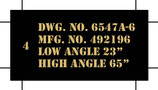 P-51 Propeller Decals