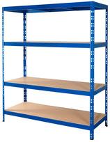 Weitspannregal blau 150 x 50 cm