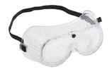 Vollsichtschutzbrille mit direkter Belüftung