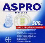 Aspro bruistablet 500 mg. (20 stuks)