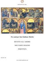 Tre canti per San Giuliano Martire - Spartito in formato PDF