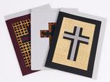 Trauerkarte Rechteckig, inkl Couvert, Preis pro Stück
