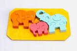 Puzzle Elefanten 3D