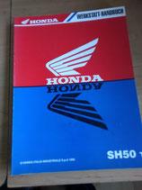 Honda SH 50 T  - Werkstatt-Handbuch