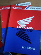 Honda NT 650  - Werkstatt-Handbuch-Zusatz im Paket