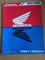 Honda CBR 1100- Werkstatt-Handbücher-Zusatz