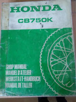 Honda CB 750 - Werkstatt - Handbuch+ 4 Zusätze im Paket