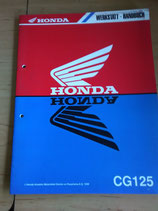 Honda CG 125 - Werkstatt-Handbuch
