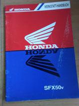 Honda SFX 50 S - Werkstatt-Handbuch+Zusatz im Paket