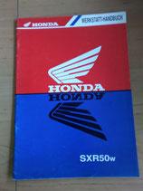 Honda SXR 50W  - Werkstatt-Handbuch-Zusatz