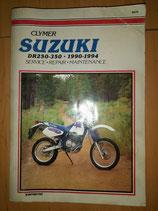 Suzuki DR 250/350 (1990-1994) - originales Werkstatt-Handbuch