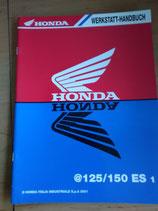 Honda @ 125/150 ES 1 - Werkstatt-Handbuch- Zusatz