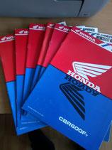 Honda CBR 600 - Werkstatt-Zusätze im Paket
