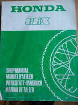 Honda CBX -  Werkstatt-Handbuch