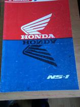 Honda NS - 1  - Werkstatt-Handbuch