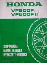 Honda VF 500 F/FII - 2 Werkstatt-Handbücher im Paket
