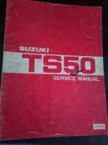 Suzuki TS 50 -  Wartungsanleitung / Service Manual
