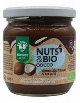Crema con cocco, nocciole e cacao