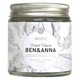 Pasta dentifricia in vasetto - white