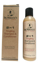 Dr. Miracle's Feel It Formula 2 in 1 Tingling Shampoo & Conditioner 177,6ml