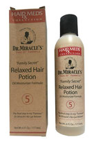 Dr. Miracle's Family Secret Relaxed Hair Potion Oil Moisturizer Formula 177,6ml