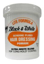 Black and White Lite - Black & White Lite Hair Dressing Pomade Long Hold 200ml
