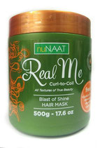 Nunaat Real Me Curl to Coil Blast of Shine Hair Mask - Haarmaske 500g