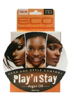 Eco Styler Edge and Style Control Play 'n Stay Argan Oil 90ml