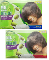 Sof'n Free Olive Oil Milk Protein Relaxer Regular / Super