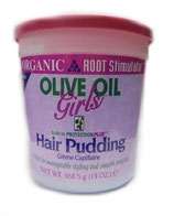 Organic Root Stimulator Olive Oil Girls Hair Pudding 368,5g