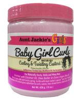 Aunt Jackie's Curls & Coils GIRLS Curling & Twisting Custard 426g