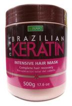 Nunaat naat Brazilian Keratin Intensive Hair Mask 500g