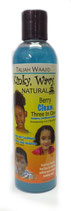Taliah Waajid Kinky Wavy 3 in 1 Shampoo - Conditioner - Softener 236ml
