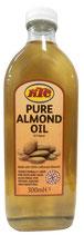 KTC 100% Pure Almond Oil - Mandelöl für Haut & Haarplege 500ml