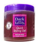 Dark and Lovely Quick Styling Gel Regular Hold 450ml
