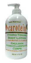 Skin Nouveau Carotein Hydro Toning Body Lotion Shea Butter & Carrot Oil 500ml
