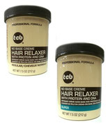 TCB No Base Creme Hair Relaxer Jar REGULAR / SUPER 212g
