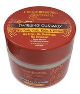 Creme of Nature with Argan Oil Twirling Custard 326g