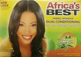 Africa's Best Herbal Intensive Dual Conditioning No Lye Relaxer REGULAR
