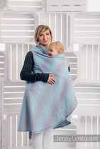 CARDIGAN LUNGO CON MANICHE LITTLE LOVE BREEZE TG XL - LENNYLAMB